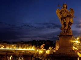 Ponte Sant' Angelo Angel, Rome, Italy