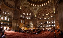 Sultan Ahmed Mosque (Blue Masque) Istambul, Turkey