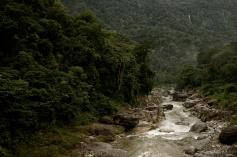 Cangrejal River and Pico Bonito, La Ceiba, Honduras
