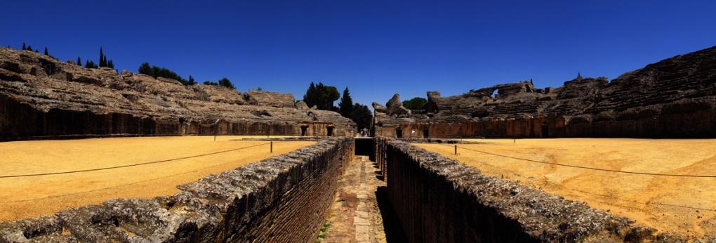 Italica (Roman Amphitheatre), Santiponce, Spain