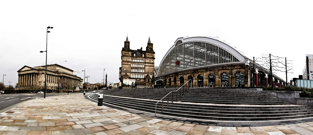Liverpool Central Railway Station, Liverpool, UK